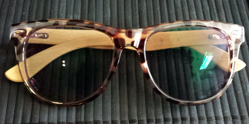 Wooden Frame Eyeglasses - Prescription Gasses