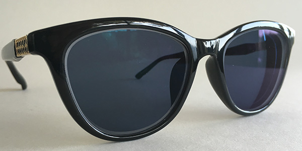 Prescription cateye sunglasses