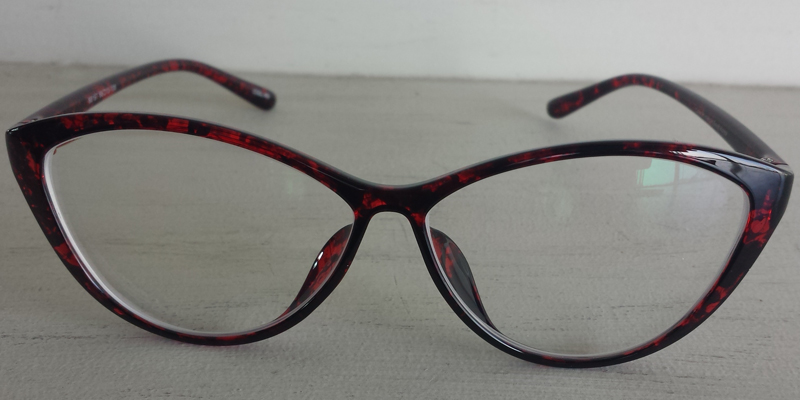 Women's Cateye Prescription Glasses- Red Frames