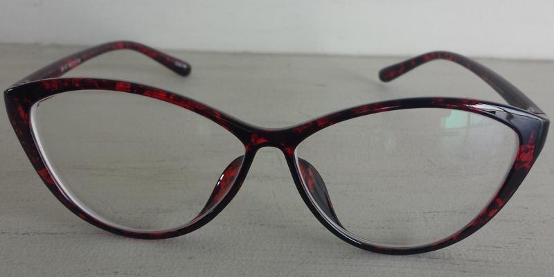 Women's Cateye Prescription Glasses- Red Frames