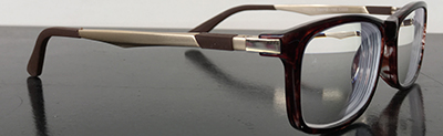 Stylish eyeglass frames