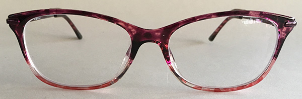 Women's single vision glasses