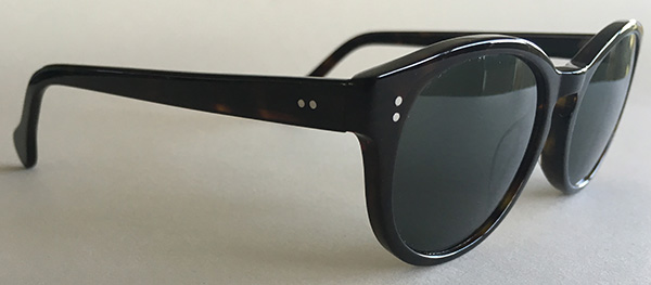 Acetate retro frames