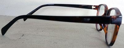 Round Wayfarer eyeframes side