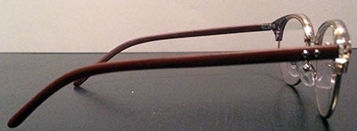 Classic Catseye Prescription glasses sideview