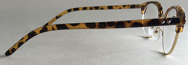 cat prescription eyeglasses side view