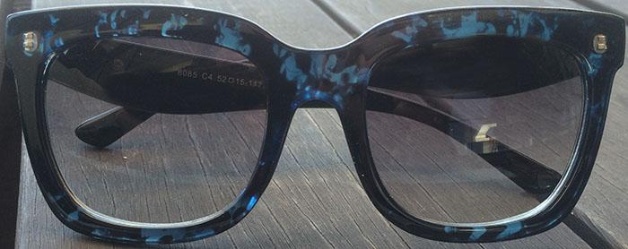 Prescription cateye sunglasses