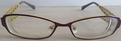 Women's filigree eyeframes
