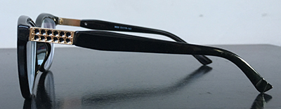 black cateyewear frames