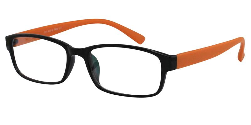 Black-Orange Color Product Image