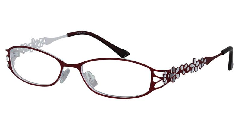 burgundy-white Color Product Image