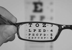 See Eyechart With EyeGlasses