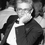 James Dean with light colored glasses