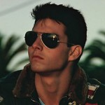Classic Aviators from 80's film Top Gun....Tom Cruise
