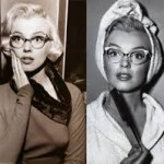 Marilyn Monroe's Cateye glasse