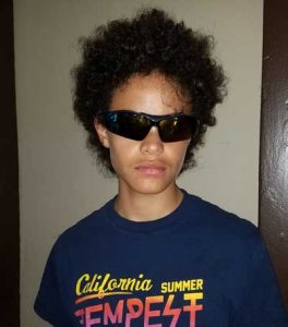 teen in rx sunglasses
