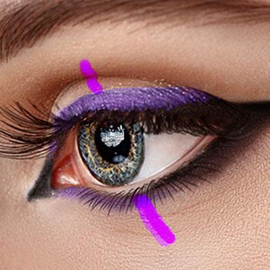 Eyemake up eyes