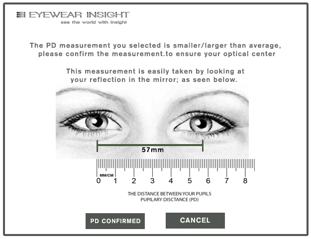 Measure Your PD For Buying Prescription Eyeglasses Online