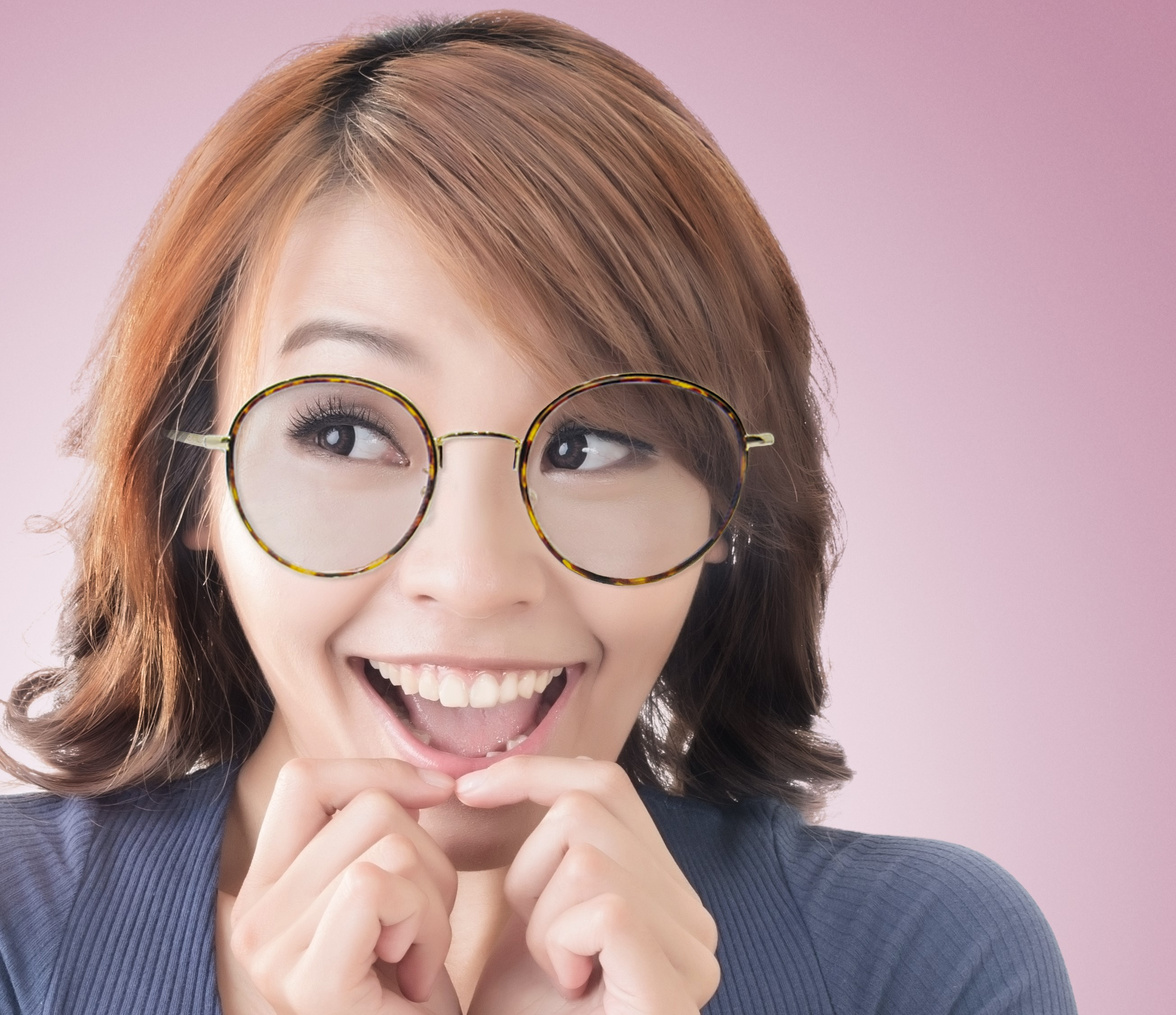 plastic frames that are good for flat Asian noses