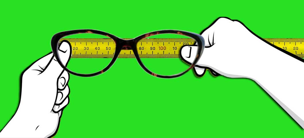 measure your glasses