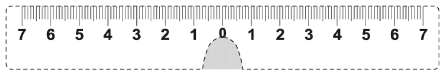 PD measurement ruler to print out