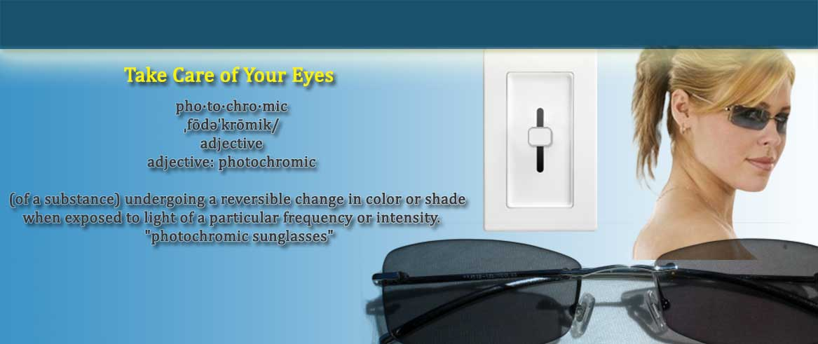 photochromic glasses
